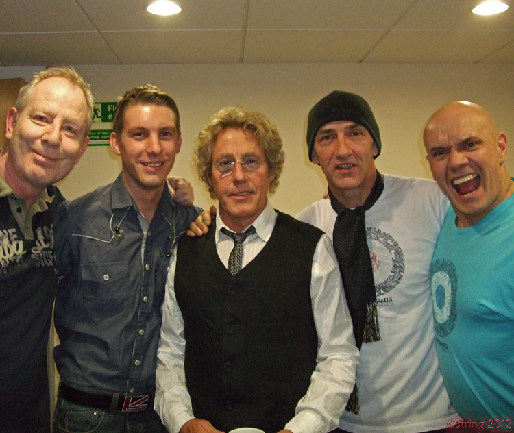 Tony Lowe, Greg Pringle, Roger Daltrey, Simon Townshend, Phil Spalding