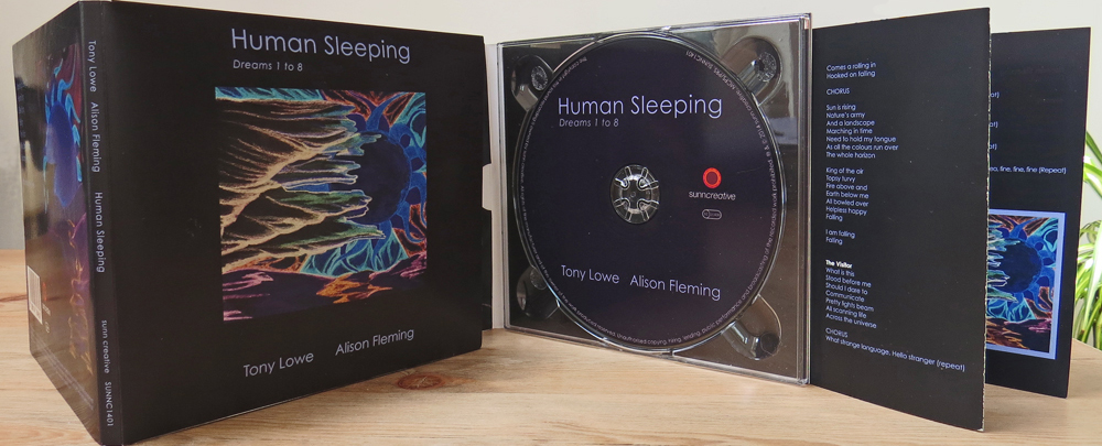 Human Sleeping Digipak
