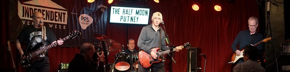 Simon Townshend, Tony Lowe, Phil Spalding & Mark Brzezicki at The Half Moon, Putney