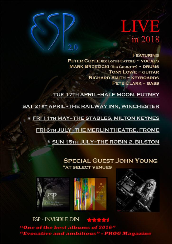 ESP 2.0 Live Dates