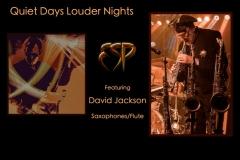 Quiet Days Louder Nights - Feat: David Jackson - ESP Project